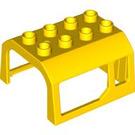 LEGO Cabin Upper Part 4 x 4 x 2 (51546)