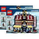 LEGO Cafe Corner Set 10182 Instructions
