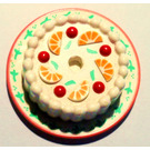 LEGO Cake with Red Cherries and Oranges (33013)