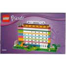 LEGO Calendar - Friends Brick Calendar (850581) Instructions