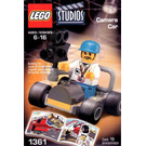 LEGO Camera Car Set 1361