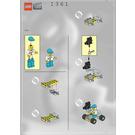 LEGO Camera Car Set 1361 Instructions