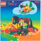 LEGO Camping Trip Set 3143 Instructions