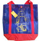 LEGO Canvas Tote Bag with Minifigure Decoration (5005587)