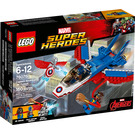 LEGO Captain America Jet Pursuit Set 76076 Packaging