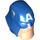 LEGO Captain America Large Figure Head (901 / 901 / 76676)