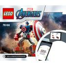 LEGO Captain America Mech Armor Set 76168 Instructions
