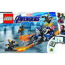 LEGO Captain America: Outriders Attack Set 76123 Instructions