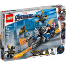LEGO Captain America: Outriders Attack Set 76123 Packaging