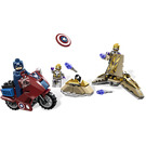 LEGO Captain America's Avenging Cycle Set 6865