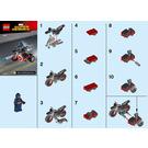 LEGO Captain America's Motorcycle  Set 30447 Instructions