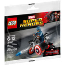 LEGO Captain America's Motorcycle  Set 30447 Packaging