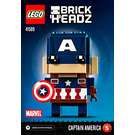 LEGO Captain America Set 41589 Instructions