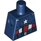LEGO Captain America Torso without Arms (973 / 10422)