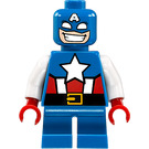 LEGO Captain America with short Legs (Mighty Micros) Minifigure