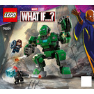 LEGO Captain Carter & The Hydra Stomper Set 76201 Instructions