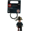 LEGO Captain Hector Barbossa Key Chain (853189)