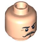 LEGO Captain J. Fuller Head (Recessed Solid Stud) (13887)