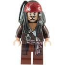LEGO Captain Jack Sparrow with Jacket Minifigure