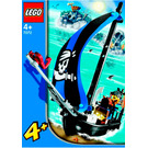 LEGO Captain Kragg's Pirate Boat Set 7072 Instructions