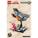 LEGO Captain Marvel and the Asis Set 77902 Instructions