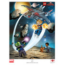 LEGO Captain Marvel Art Print (5005877)