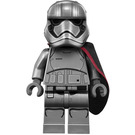 LEGO Captain Phasma Minifigure with Pointed Mouth Pattern