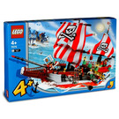 LEGO Captain Redbeard's Pirate Ship Set 7075-1 Packaging