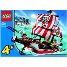 LEGO Captain Redbeard's Pirate Ship Set 7075 Instructions