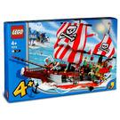 LEGO Captain Redbeard's Pirate Ship Set 7075 Packaging