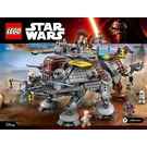 LEGO Captain Rex's AT-TE Set 75157 Instructions
