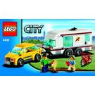LEGO Car and Caravan Set 4435 Instructions