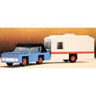 LEGO Car and Caravan Set 656-1