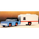 LEGO Car and Caravan Set 656