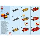 LEGO Car and petrol pump Set 40277 Instructions