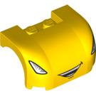LEGO Car Mudguard 3 x 4 x 1.667 Curved with Decoration (33695 / 93587)