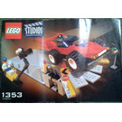 LEGO Car Stunt Studio Set 1353 Instructions