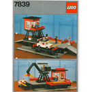 LEGO Car Transport Depot Set 7839 Instructions