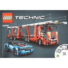 LEGO Car Transporter Set 42098 Instructions