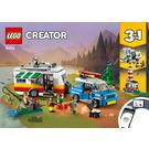 LEGO Caravan Family Holiday Set 31108 Instructions