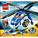LEGO Cargo Copter Set 4995 Instructions