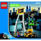LEGO Cargo Crane Set 4514 Instructions