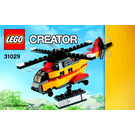 LEGO Cargo Heli Set 31029 Instructions