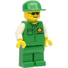LEGO Cargo Male, Green Outfit Minifigure