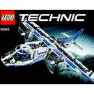 LEGO Cargo plane Set 42025 Instructions