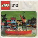 LEGO Cargo Ship Set 312-3 Instructions
