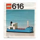 LEGO Cargo Ship Set 616 Instructions