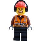 LEGO Cargo Terminal Man Worker Minifigure