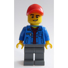 LEGO Cargo Terminal Truck Driver Minifigure