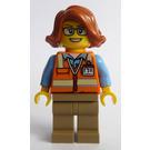 LEGO Cargo Terminal Worker Minifigure